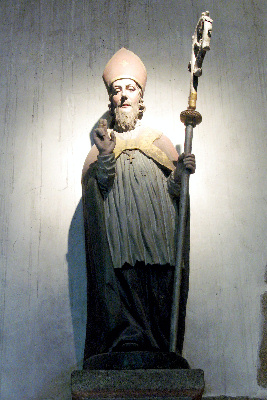 Saint Aubert Évêque d'Avranches