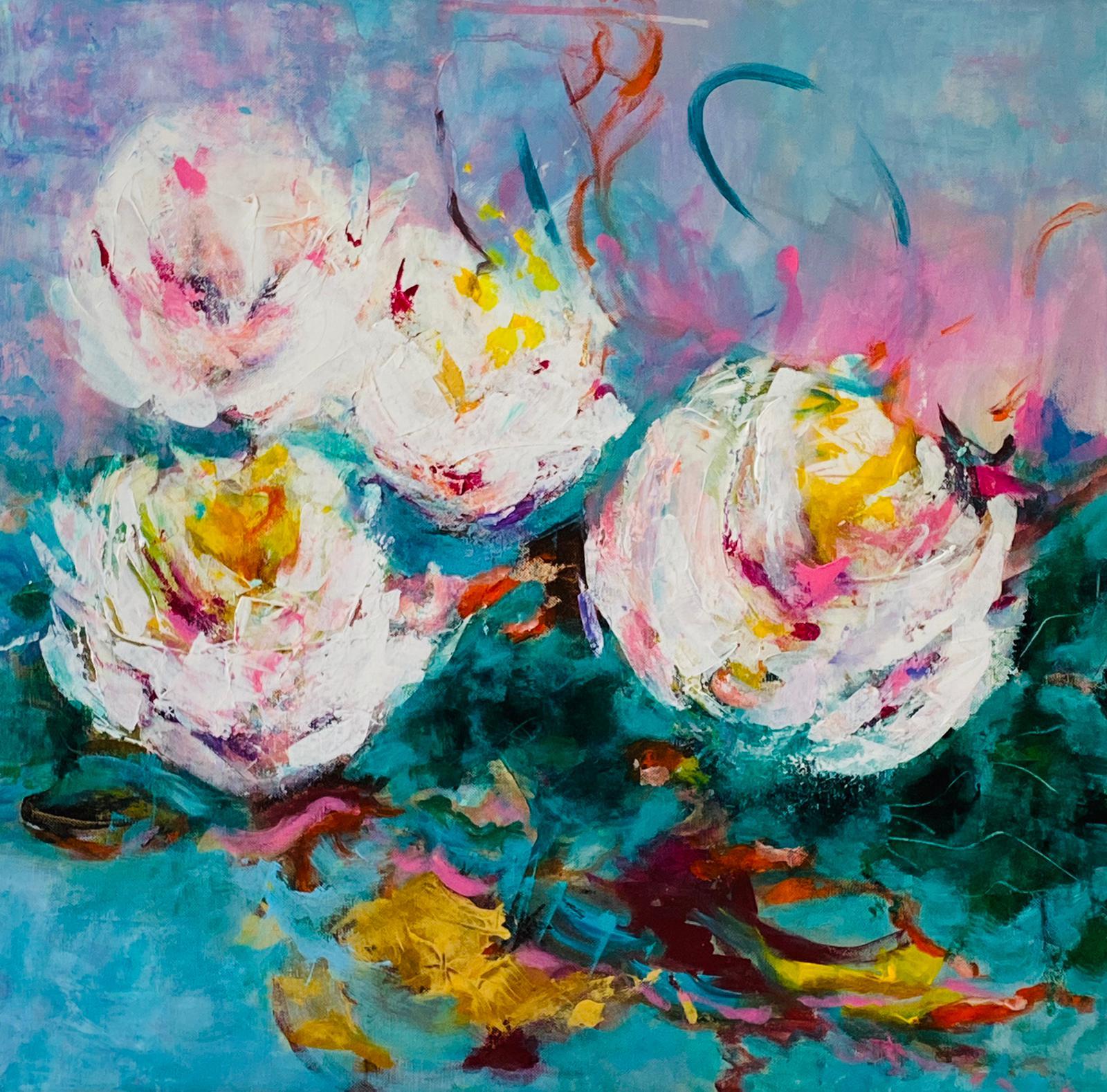 60 x 60 Gemälde von Gisela Kissing