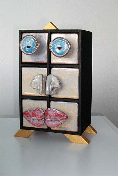 22.12., Recycling Art, Ölbilder, Collagen, Skulpturen von Simone Kehl DUENDE, Berlin-Lichtenberg, A12