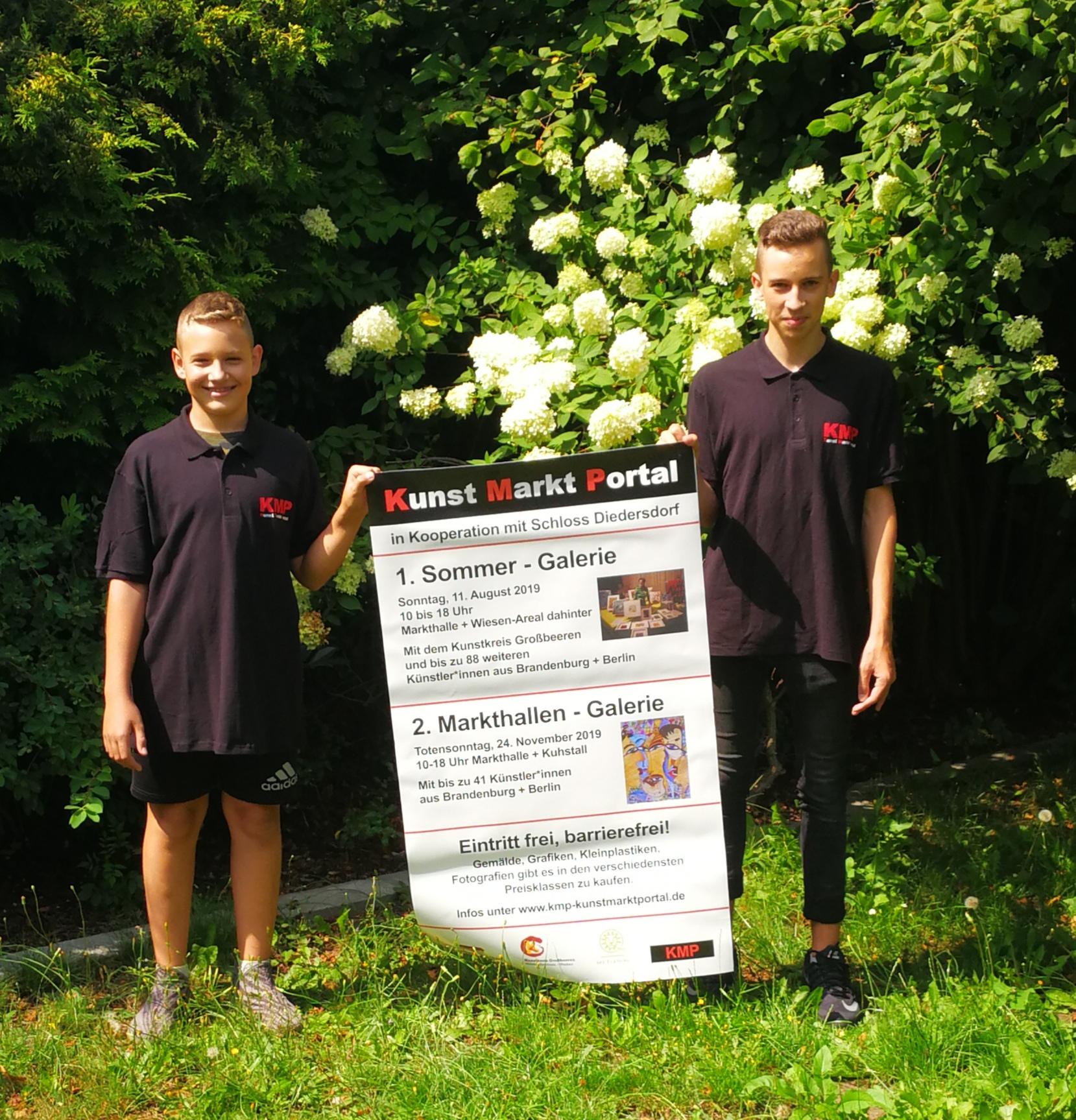 KMP-Helfer von der Otfried Preußler Schule Großbeeeren