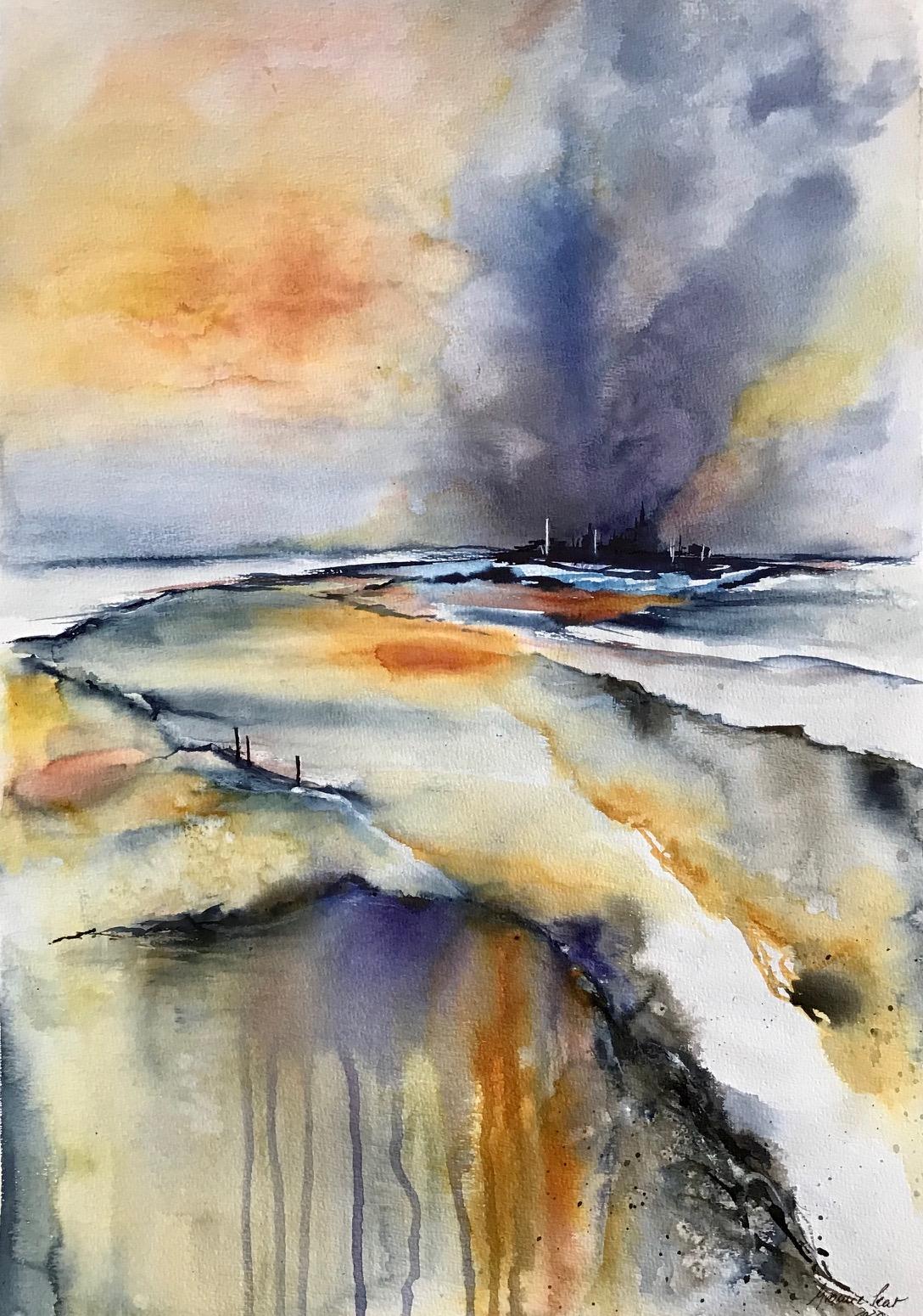 """12.1., """"Malen ist meine Leidenschaft"""", Yvonne Lenz, Potsdam, A23"""