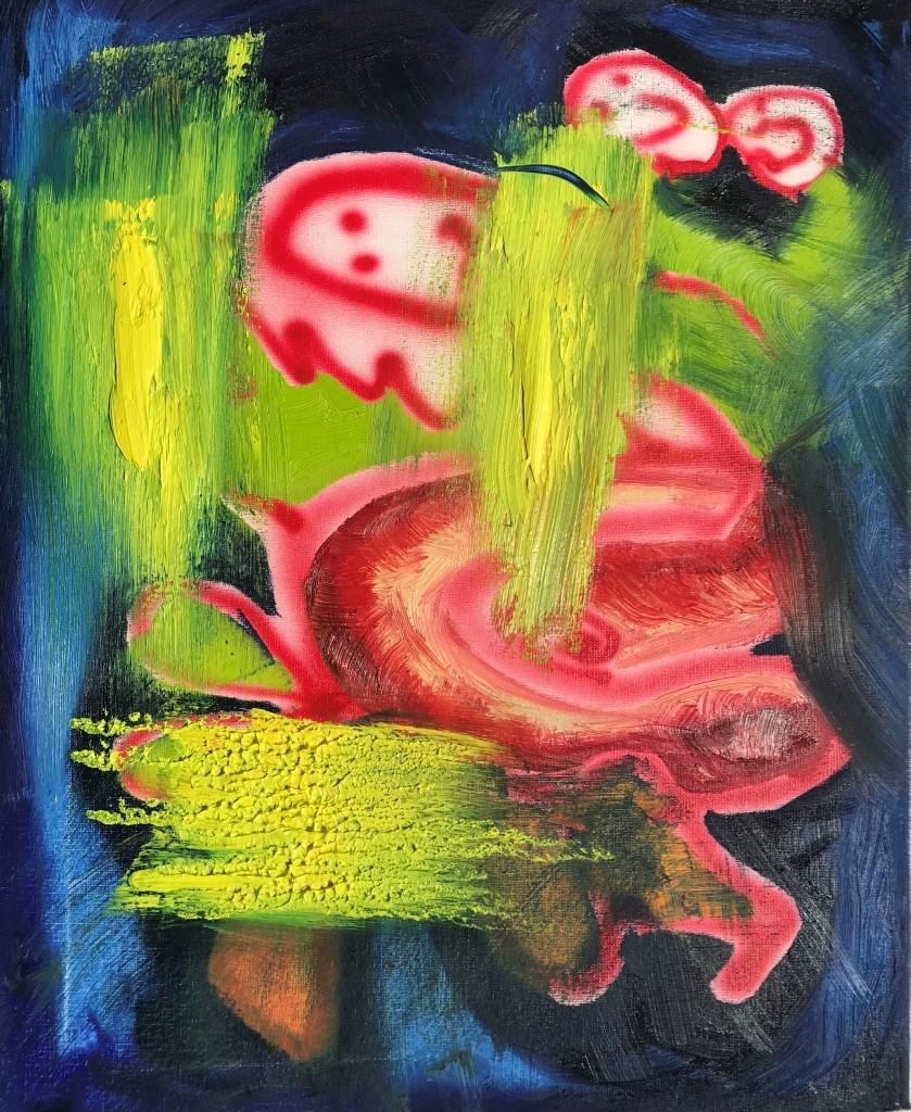 19.2., Gemälde der UdK-Studentin und Anna-Oppermann-Preisträgerin Isabel Wittmann, Berlin-Steglitz, A30