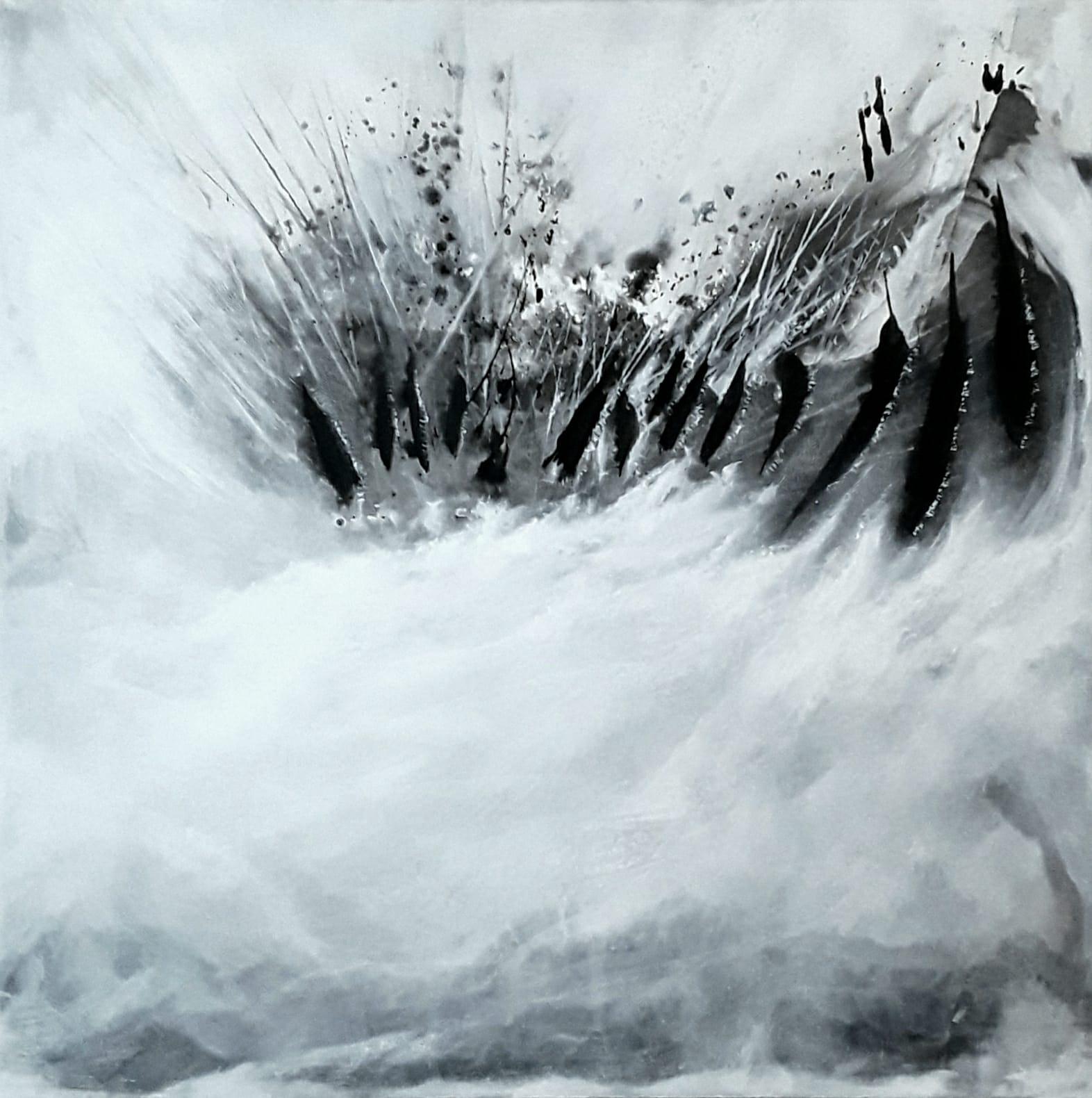 10.12., Acryl-Gemälde von Petroula Papalexandrou, Falkensee, A24