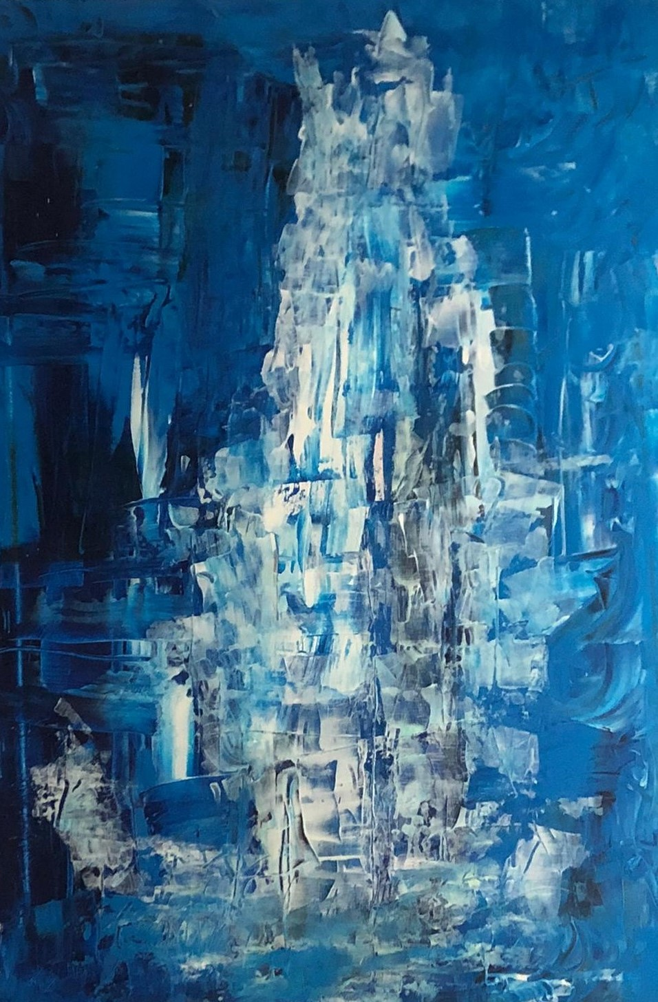 11.12., Acryl-Gemälde von Anne van den Berg-Gottschalk, A27Berlin-Zehlendorf,