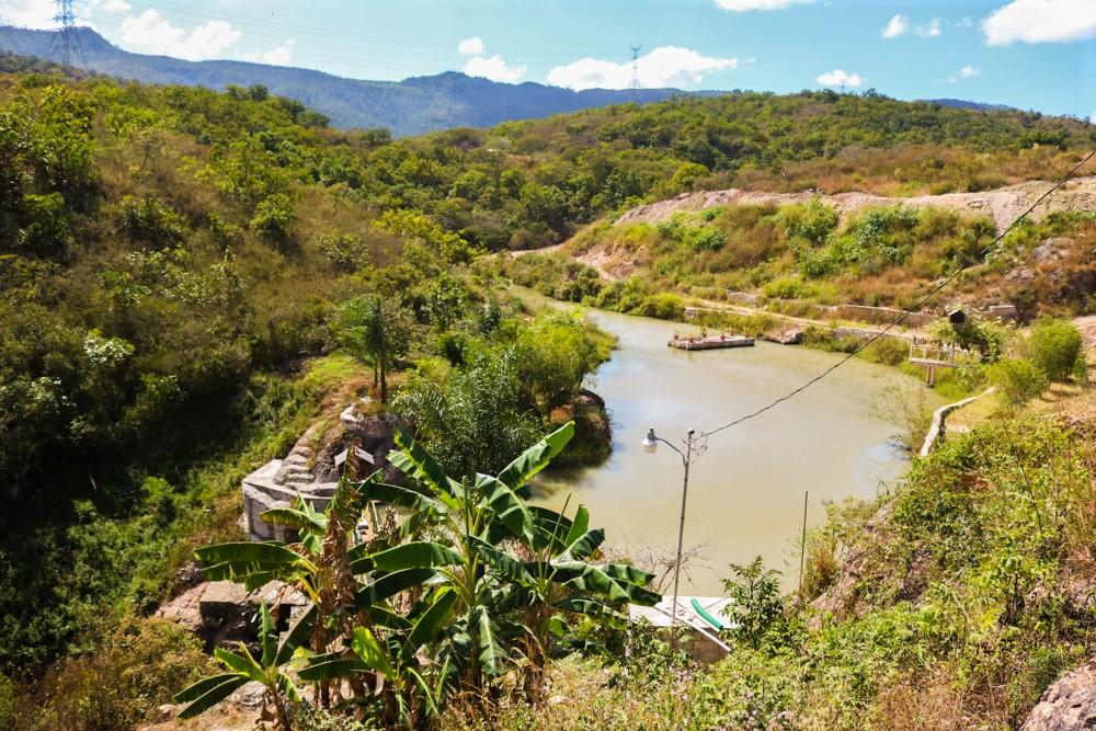 Aguas lluvias se acumulan en laguna