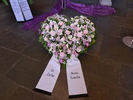 Trauergesteck, Holert Bestattungen in Hamburg