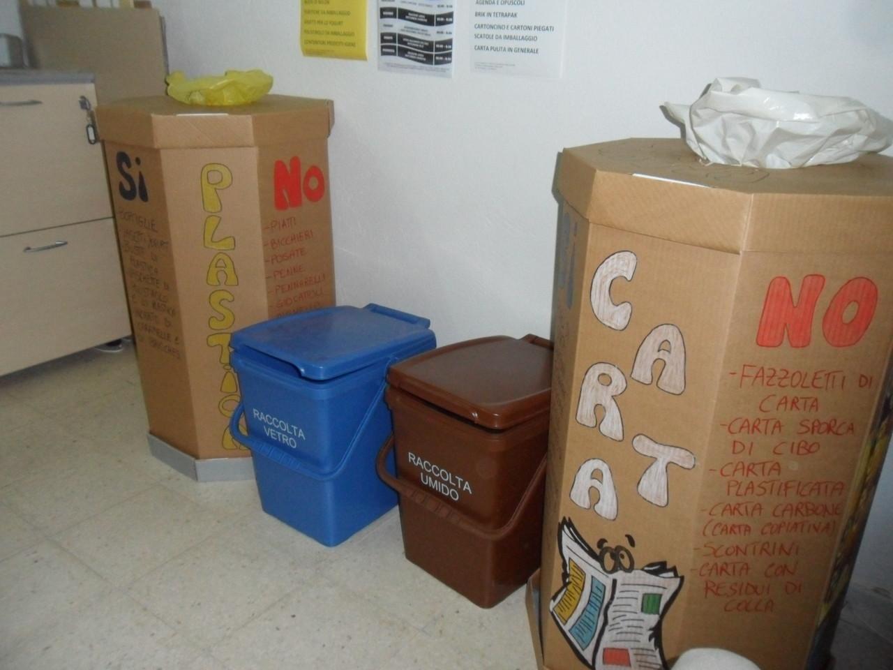 La raccolta dei rifiuti nel nostro CEA!
