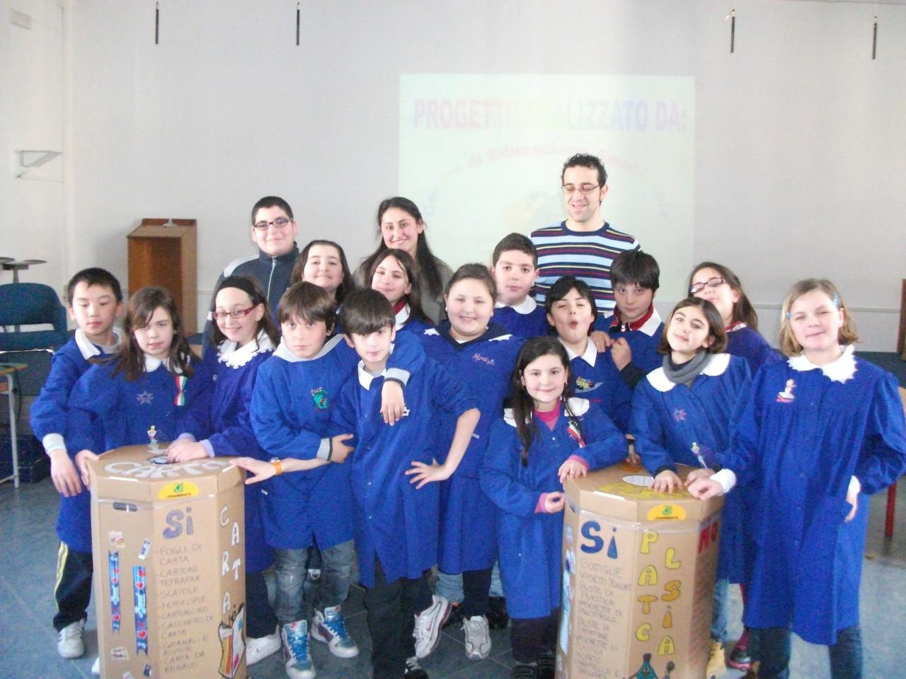 Progetto Scuola Laboratorio Ambiente 2011