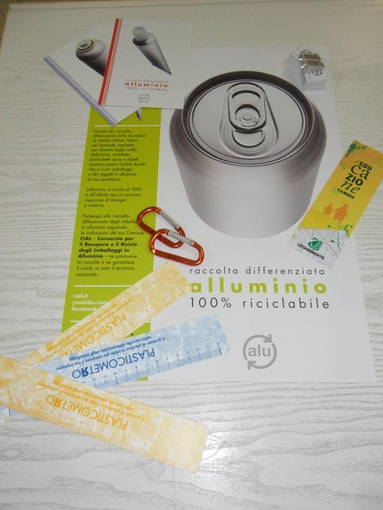 Gadgets Consorzi di recupero materiale riciclato!