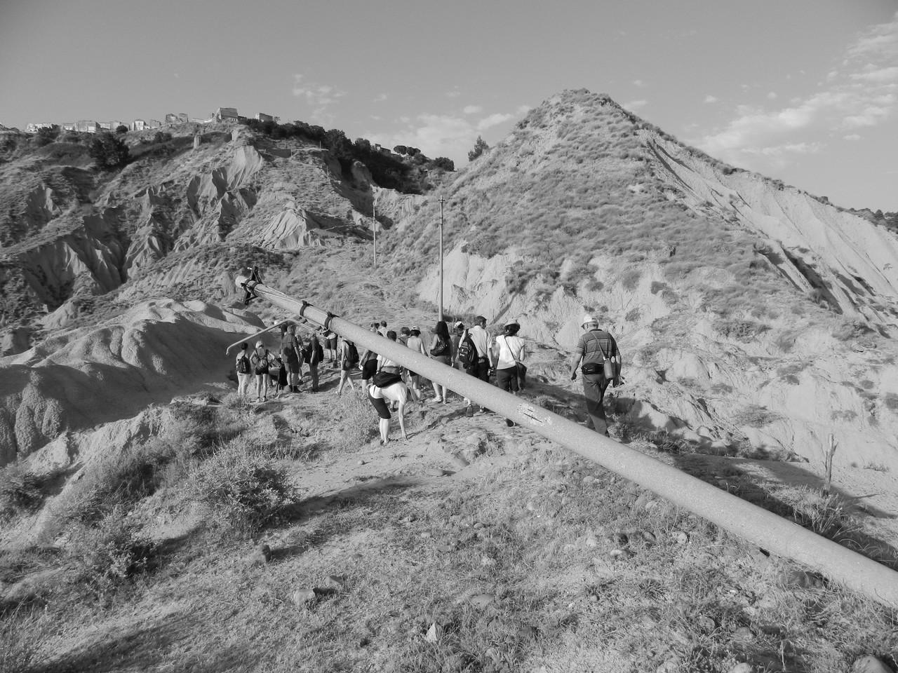 Escursione Appiett u mulin 2012 con un gruppo di turisti austriaci