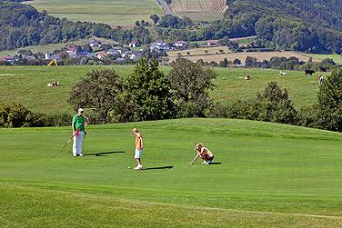 Gunstiges Green Fee in der Eifel