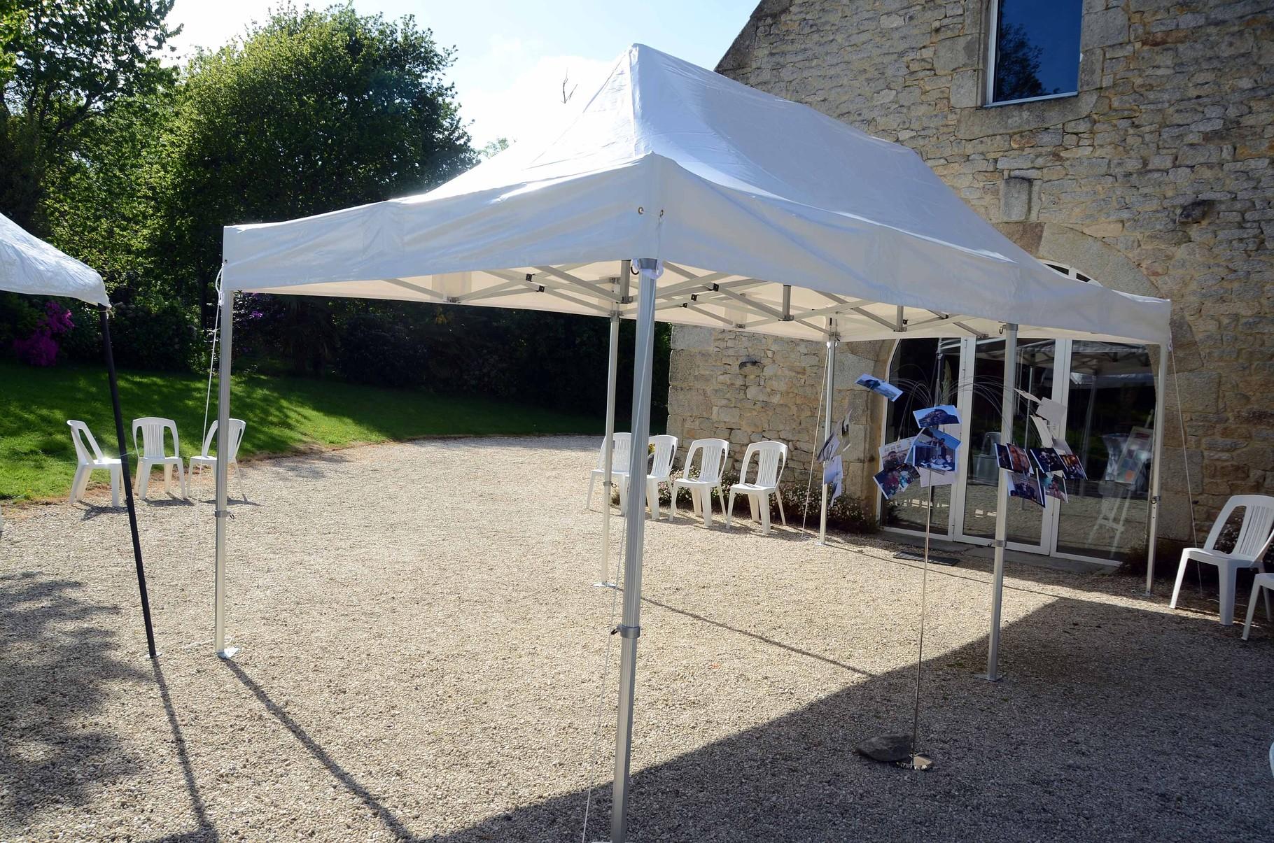 Salle de réception - Mariage - Clos de Trévannec - Pont L'Abbé - Finistère