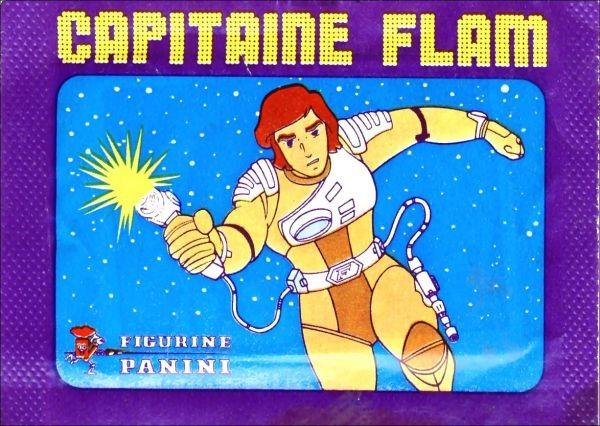 bustina figurine panini capitan futuro capitaine flam edizione francese