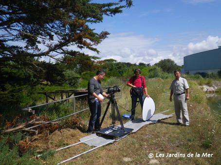 Une équipe de France Télévision est venue le 20 juillet aux JDM pour tourner plusieurs séquences qui seront diffusées sur France 2 cet automne dans le cadre du programme Émission de solutions