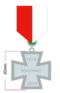 Ehrenkreuz Marmstorf 200 Jahre