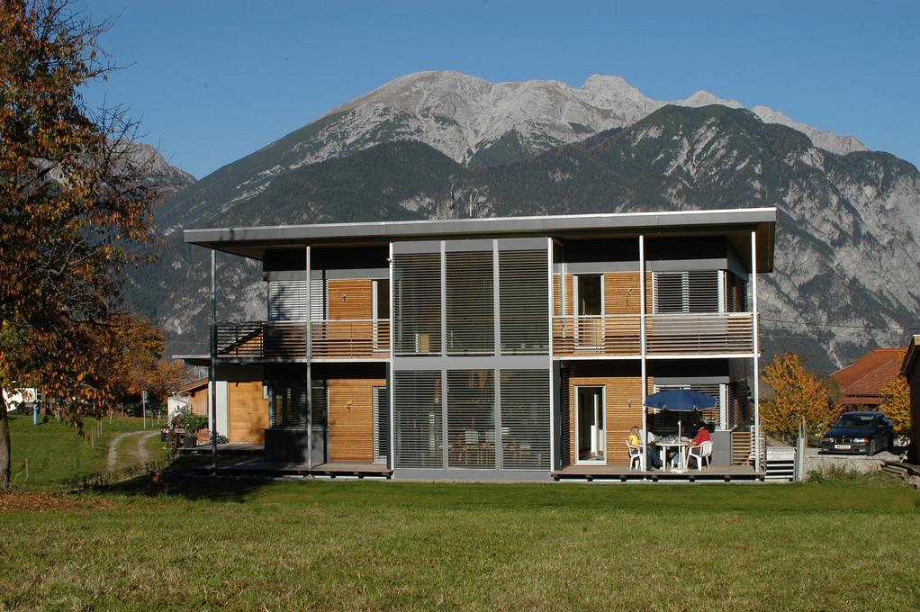 das moderne Haus mit ausgefallener Optik