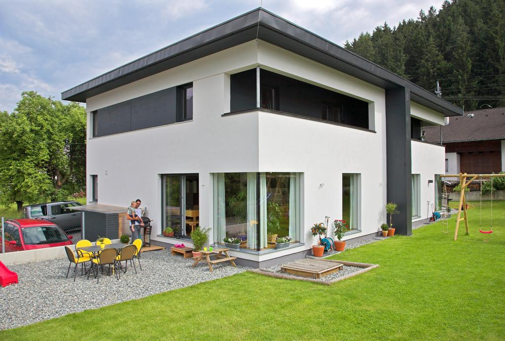 Bauhausstil Doppelhaus