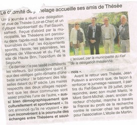 OUEST-FRANCE Le Fief Sauvin
