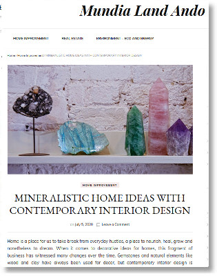 Mundilandando about mineralistic Home Ideas
