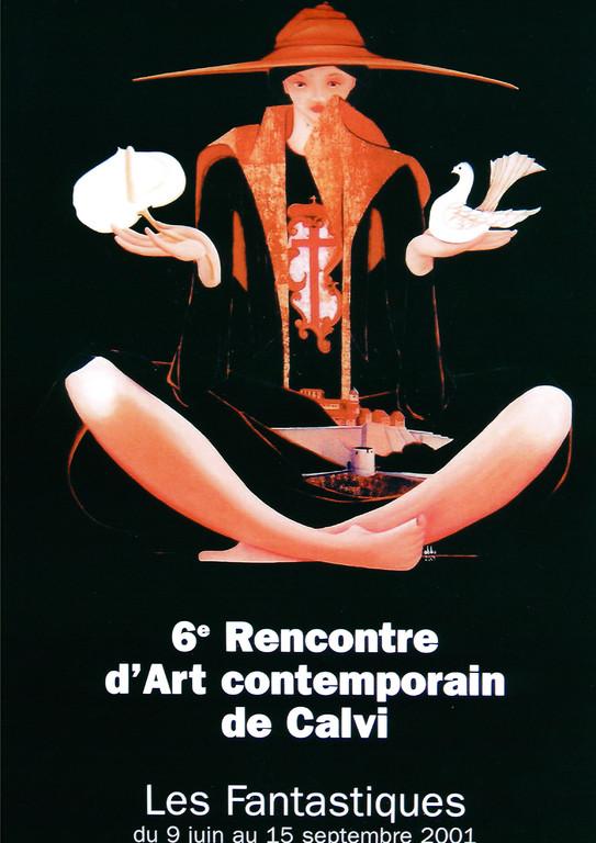Claude Abba - Affiche 2001