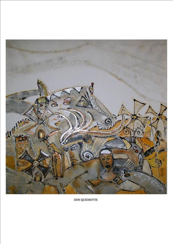 """""""Don Quichotte"""" - Gaby Mamberti"""
