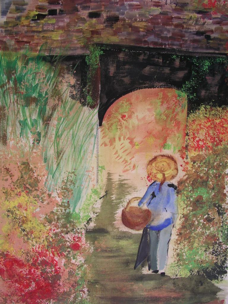 """""""Au Jardin"""" - Monique Luciani"""