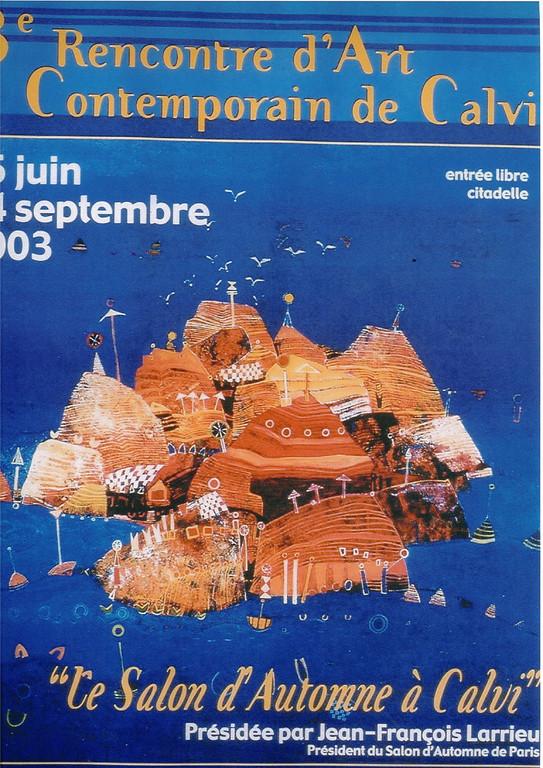 Jean-François Larrieu - Affiche 2003