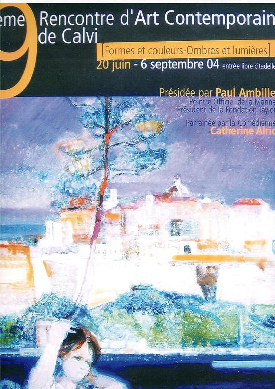 Paul Ambille - Affiche 2004