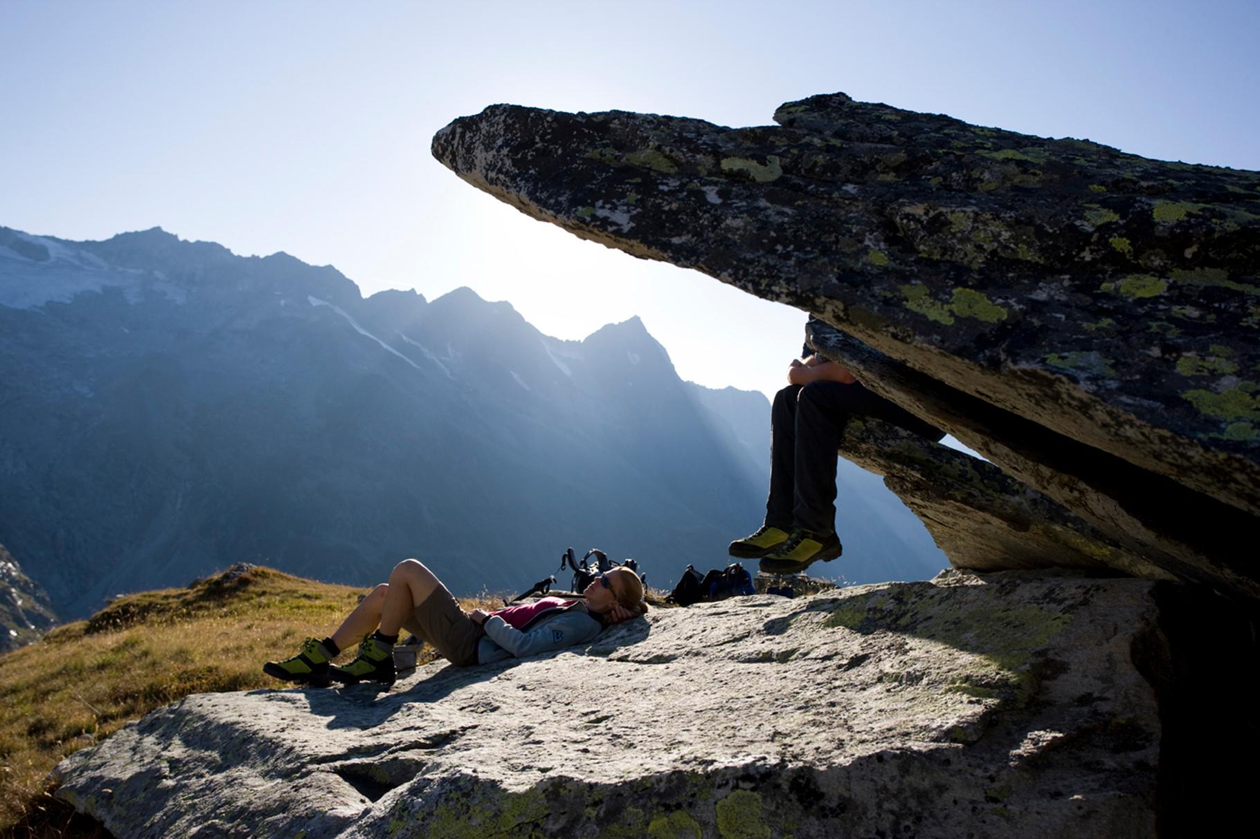 einfach einmal die Seele baumeln lassen - wandern am Ahorn © Zillertal Tourismus GmbH/Ritschel