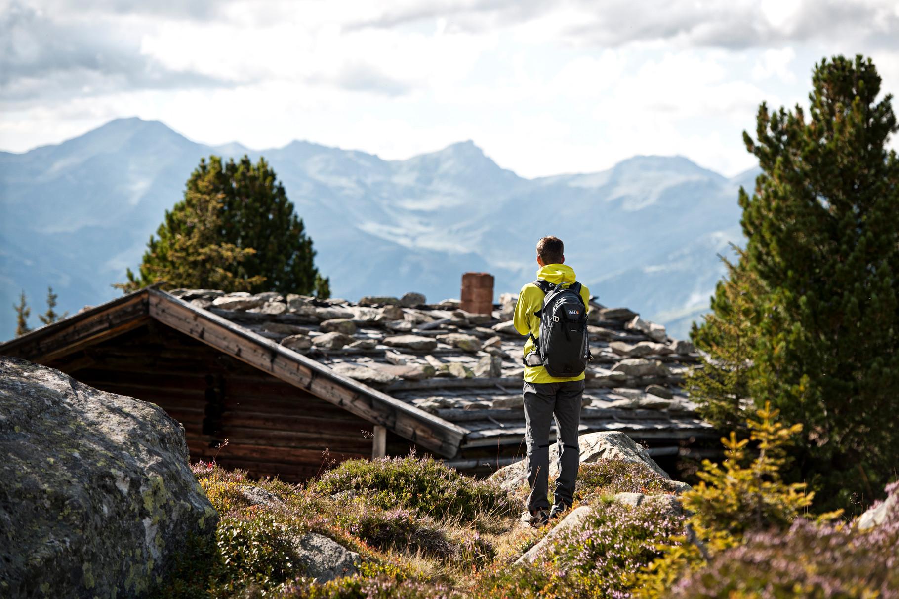 Wandern am Ahorn in der Ferienregion Mayrhofen-Hippach ©Schönherr