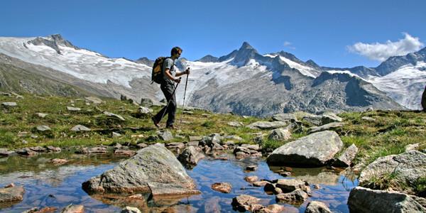Energie auftanken - wandern in den Zillertaler Alpen © Zillertal Tourismus GmbH
