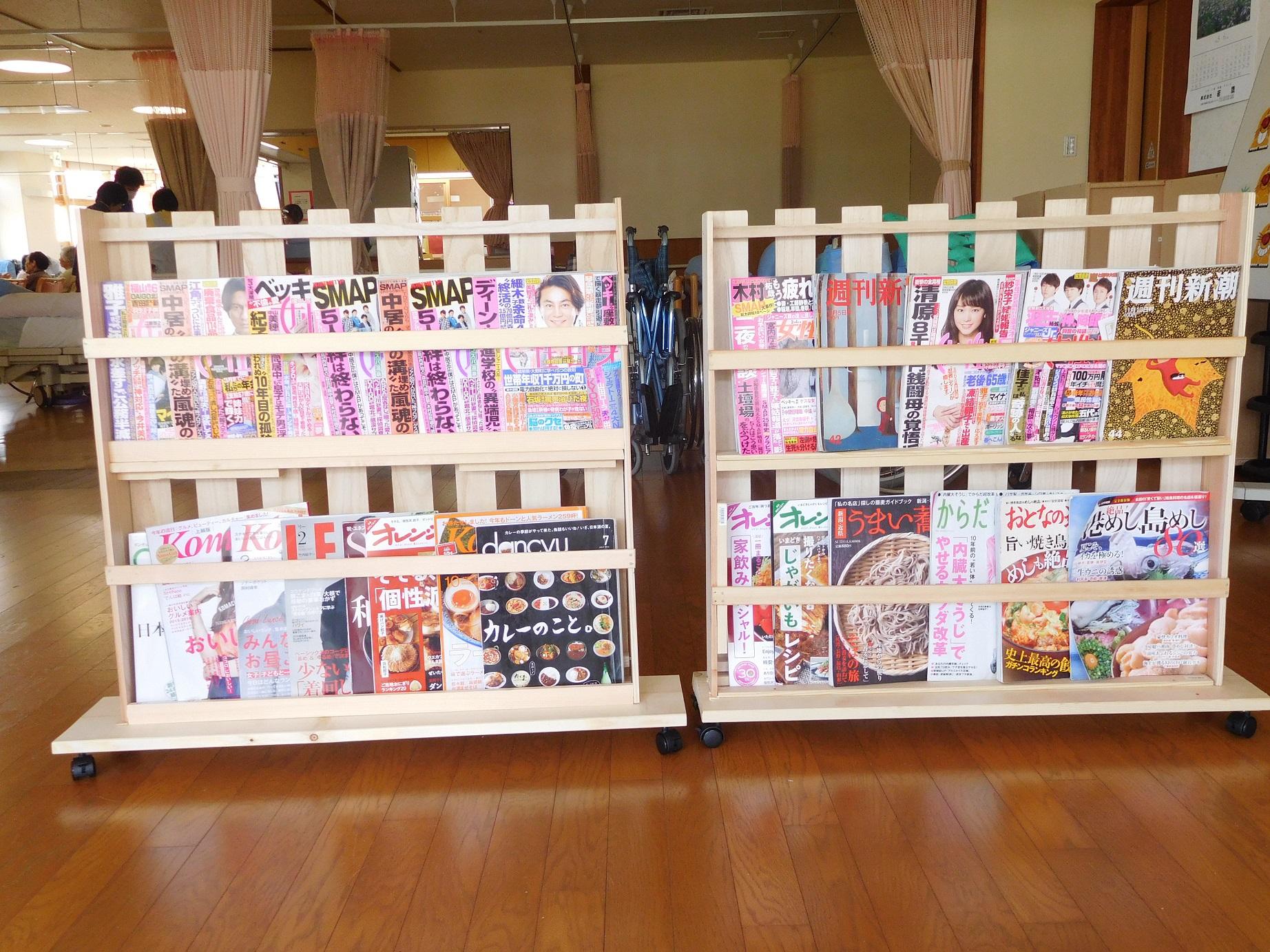 とっても素敵な本棚に仕上がりました