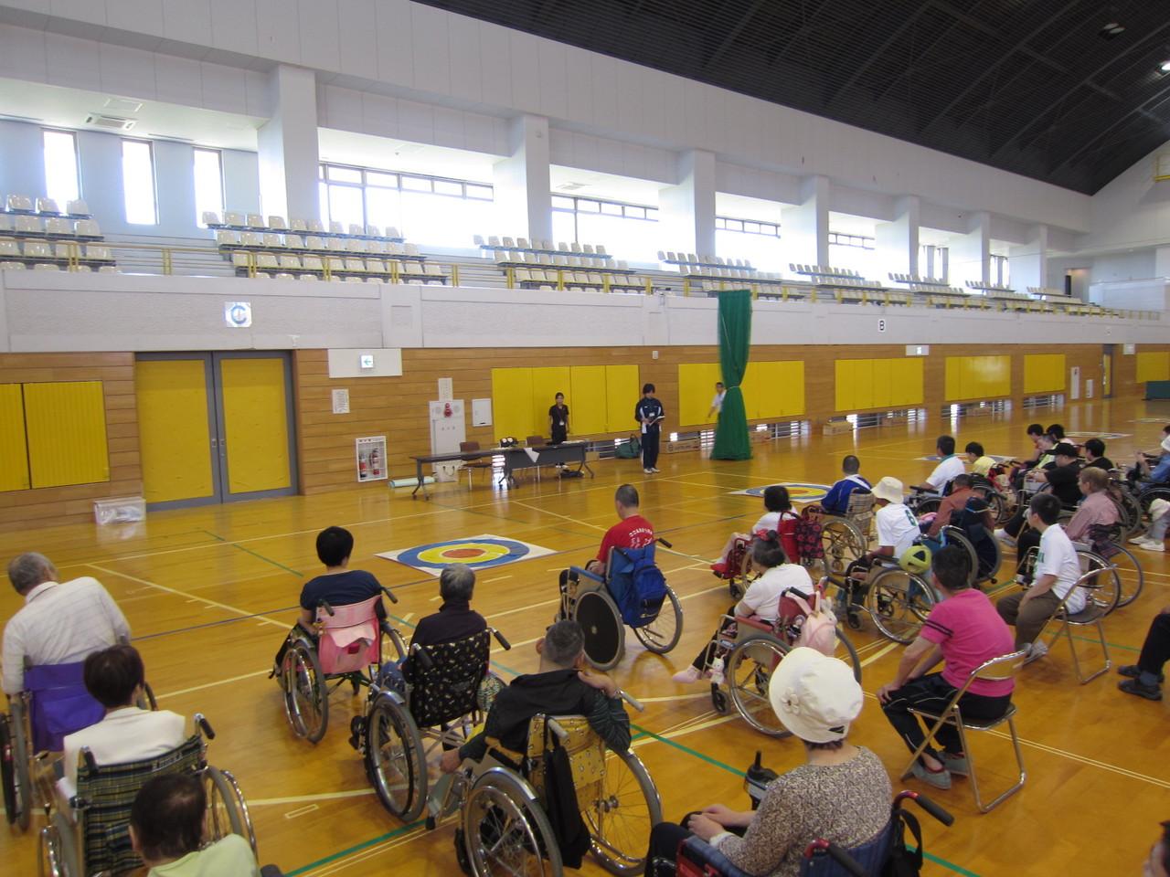 新潟県身体障害者施設協議会・スポーツ交流会