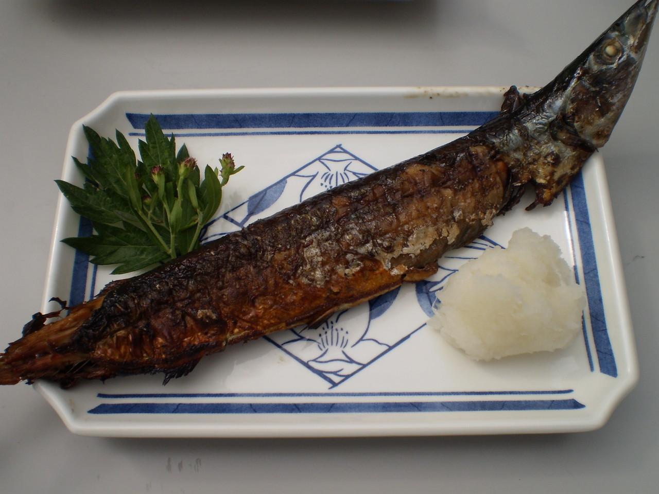 秋刀魚がおいしくなる