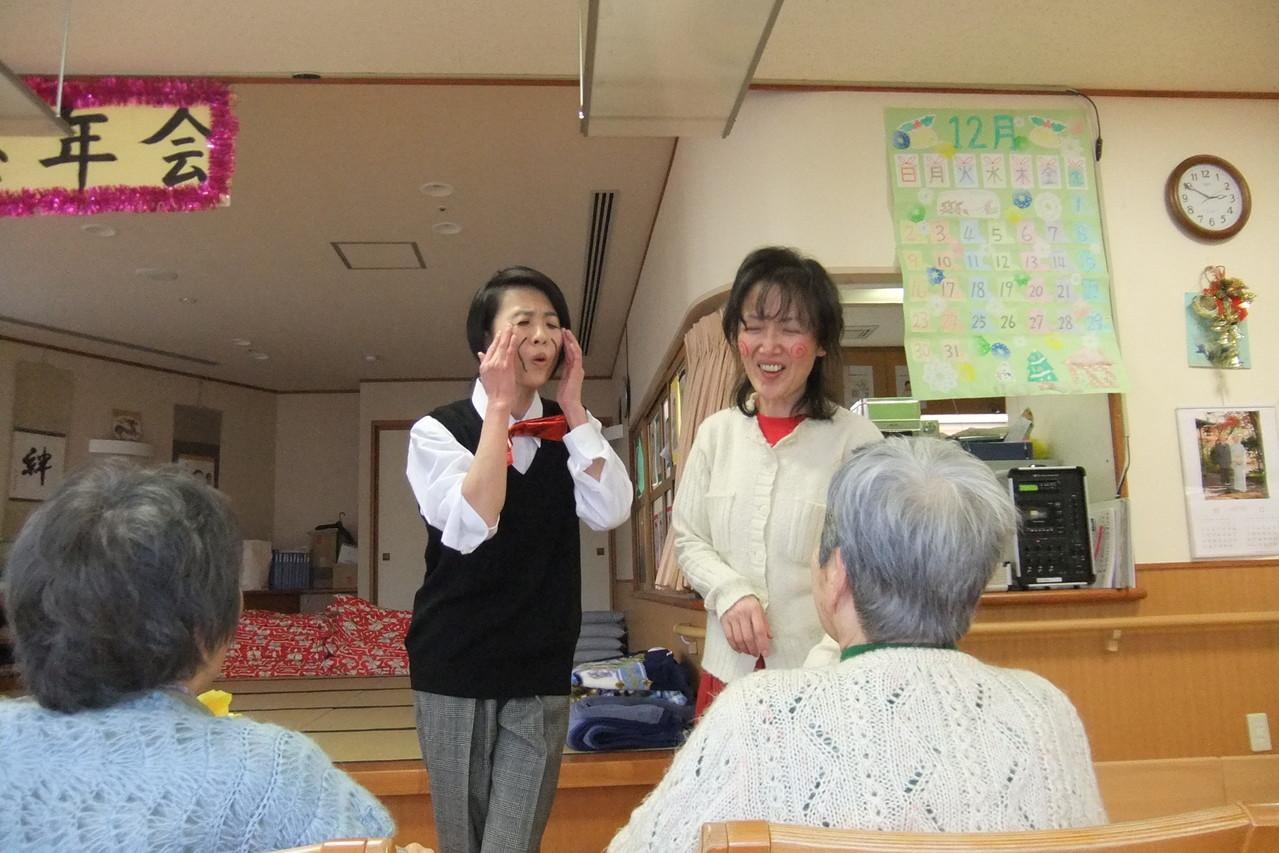 ゆりかご荘・大忘年会!