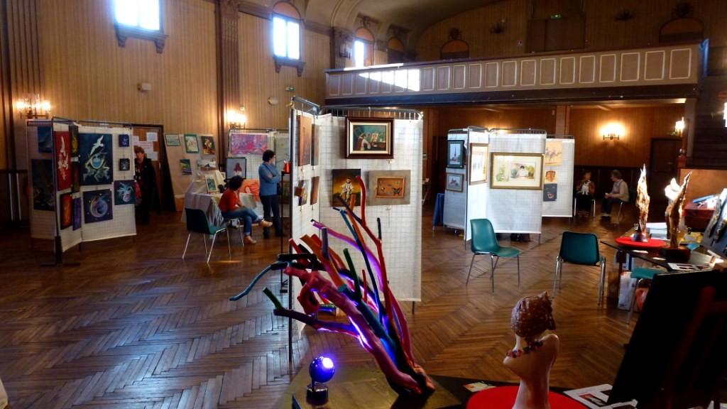 Exposition Forges Les Eaux (76) Accrochage JPB 18-19/10/2014