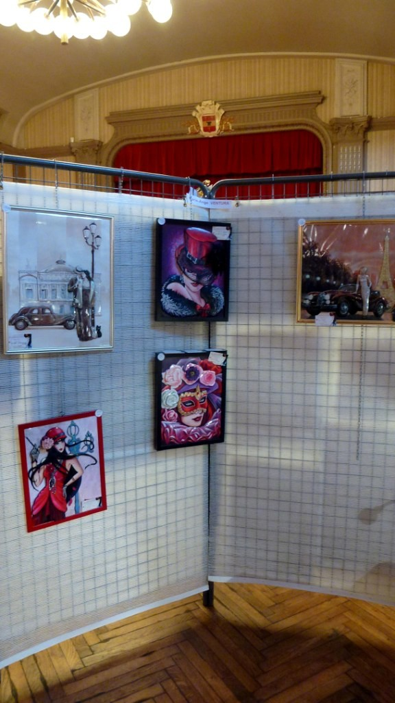 Exposition Forges Les Eaux (76) au profit des chiens d'aveugles 18-19/10/2014