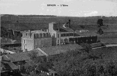 Ancienne usine de Senon en Lorraine
