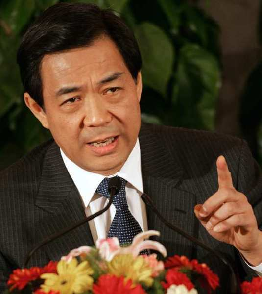 Chinese politician Bo Xilai is shown during a 2007 press conference on the sidelines of the National People's Congress at the Great Hall of the People in Beijing. (Frederic J. Brown / AFP / Getty Images / April 25, 2012)