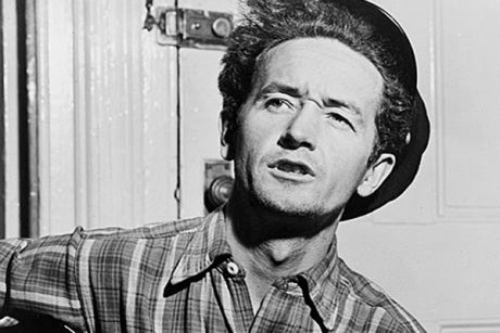 Woody Guthrie  (Credit: LOC)