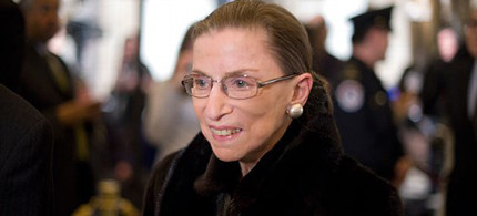 Supreme Court Justice Ruth Bader Ginsburg. (photo: Bill Clark/Getty Images)