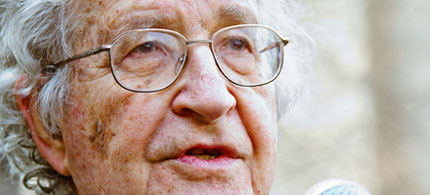 Noam Chomsky has been awarded the Sydney Peace Prize. (photo: Ben Rusk/Flickr)
