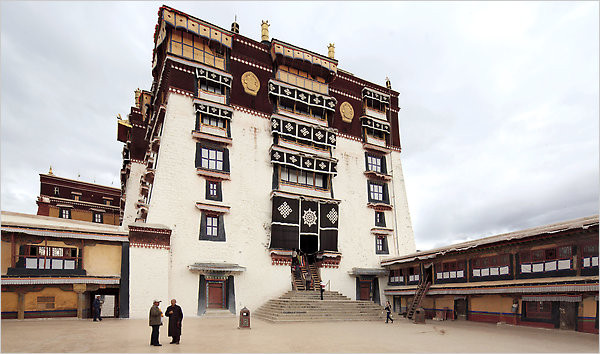 Adrian Bradshaw/European Pressphoto Agency At the Po    tala Palace in Lhasa, the Tibetan capital, images of the exiled Dalai Lama have been banned.