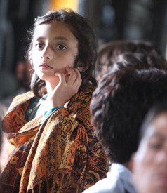 A young Pakistani flood victim. (Photo: United States Marine Corps Official Page)