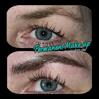 Permanent Make-up Augenbrauen in 3D Technik / © katja junius - skinlights.de