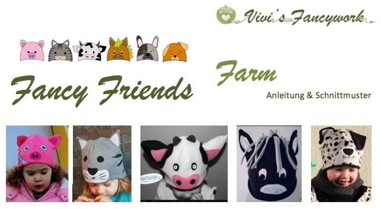 Kostenlose Tier- und Motivmützenschnitte - Website von my Fancywork