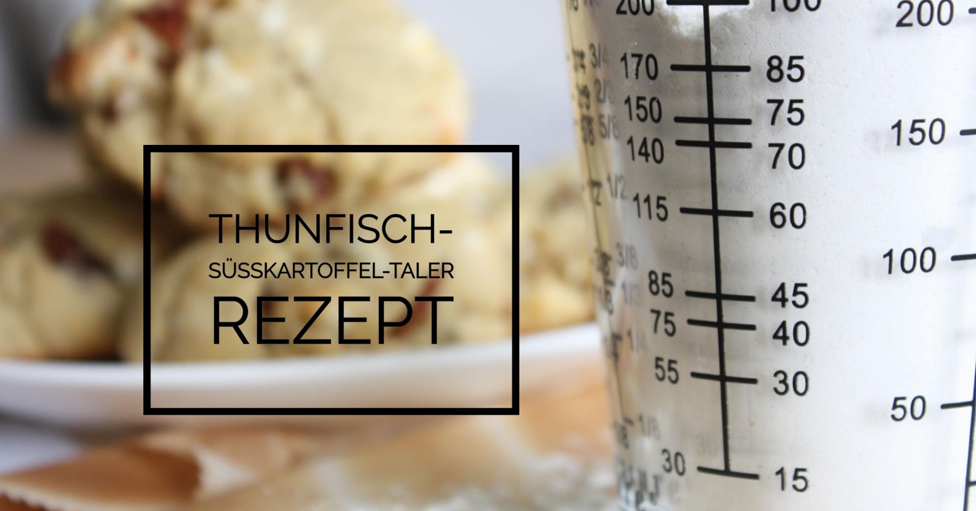 Thunfisch-Süßkartoffel-Taler