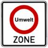 Umweltzonen-Verkehrszeichen