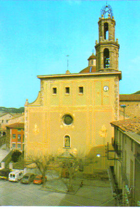 La Iglesia de Sta Maria.