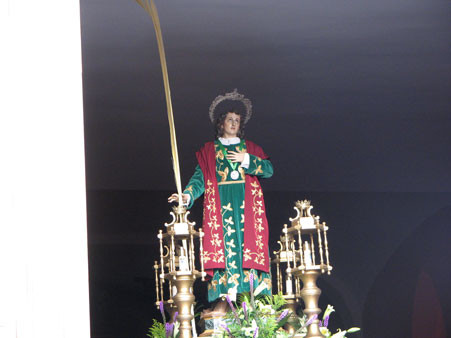 """San Juan Evangelista. (San Juan el Guapo)"""